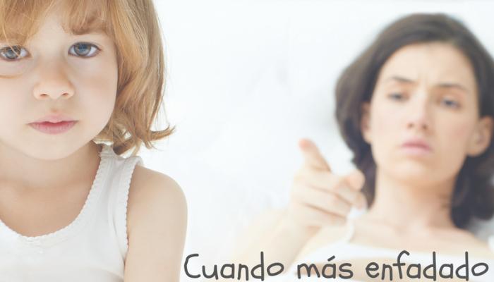 5 pautas para no perder los nervios cuando tus hijos estén enfadados