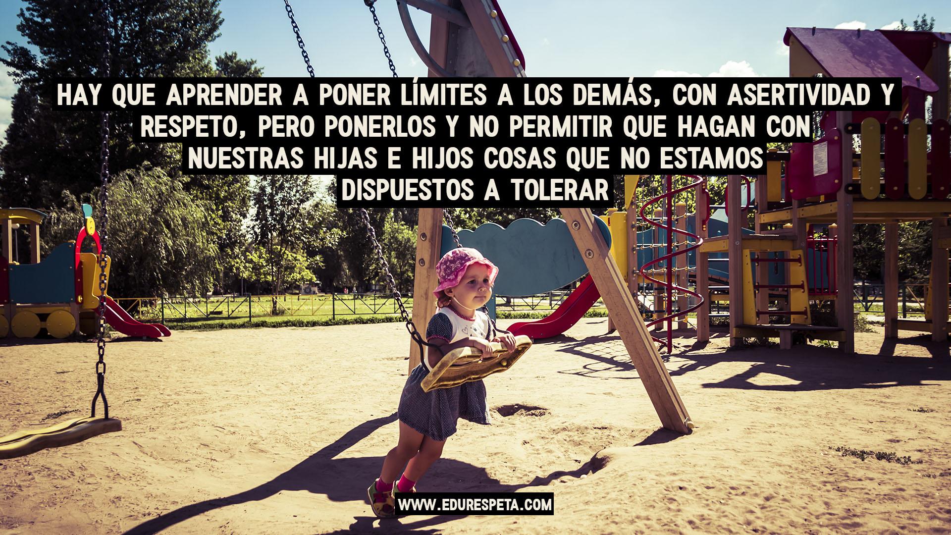 Hay que aprender a poner límites a los demás, con asertividad y respeto